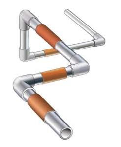 排气管及金属配管加热用
