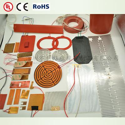加热PI发热片 电热膜 电热片 0.2厚 可达200度