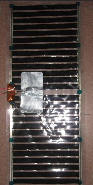低温红外线热辐射电热膜,PET金属电热膜,发热片红,外发热片