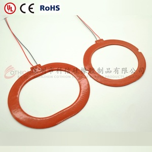 Silicone heating sheet heating coil heating plate