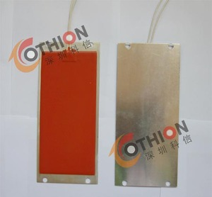 Cabinet anti-frosting electric heating plate