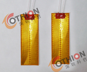 Polyimide high temperature electric heating film