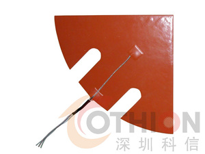 All-round heating method - flexible silicone electric heating film, silicone heating sheet, silicone