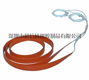Silicone heating belt