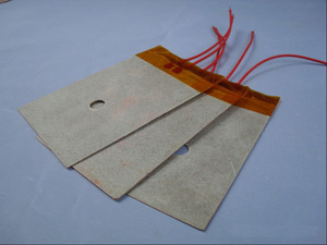 Mica sheet electric film